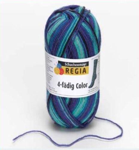 Regia 4fädig color 50 g Resteverkauf nur 3,45 € statt 4,95 €