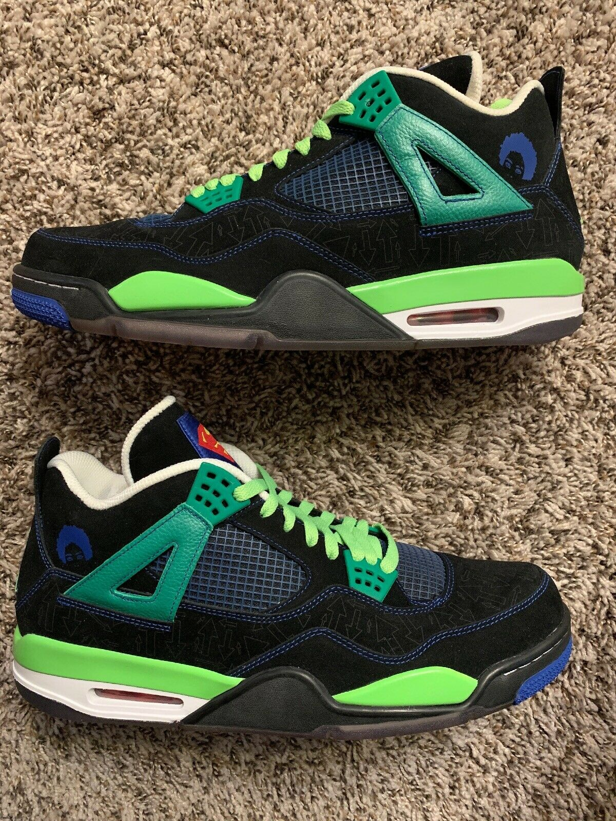 Air Jordan 4 IV Doernbecher Superman 5 6 7 8 9 12 13