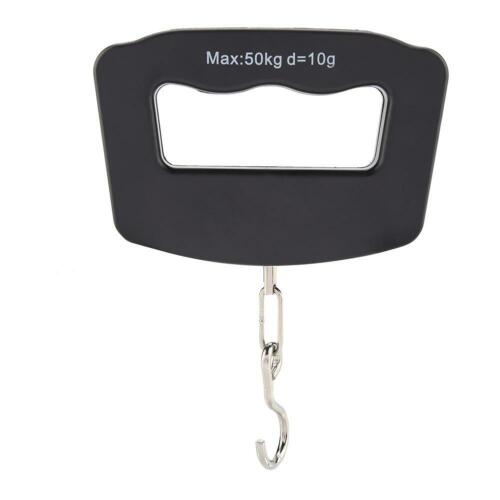 50//40Kg 10g Portable Electronic LCD Digital Hanging Luggage Weight Hook Scale
