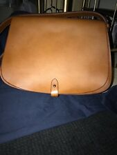 a7cea5ed22 Authentic Ralph Lauren Collection Stirrup Equestrian Vachetta Saddle Bag  Purse