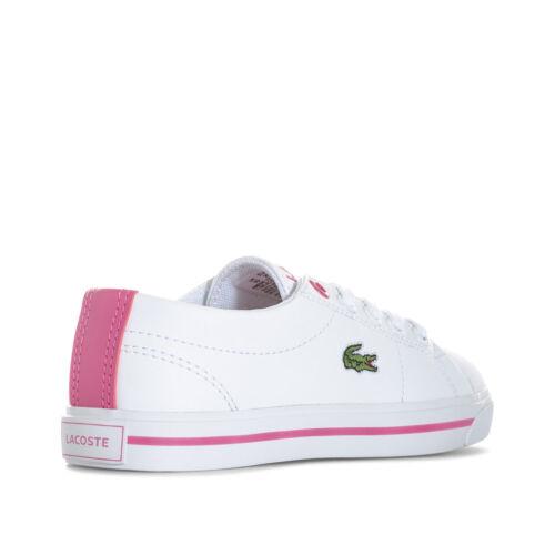 7 Rosa Junior Bianco Ginnascita Da Lacoste Ragazze Scarpe 33cac1017b53 Bambine pOZqqYzFT