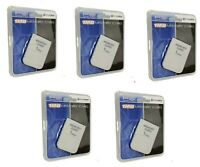 5 X (5 Pieces) 1 Mb Memory Card For Playstation 1 Ps1 Psx Game(factory Sealed)