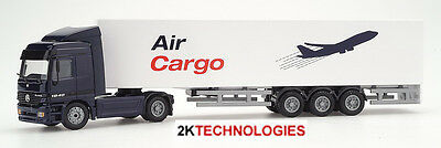 Aus Dem Ausland Importiert Joal 360 Mercedes Actros Artic With Box Air Cargo Trailer 1/50th Scale New Boxed