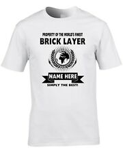 Jedi Brickie TShirt Mens Star Wars Starwars Builder Brick Layer Bricky Gift