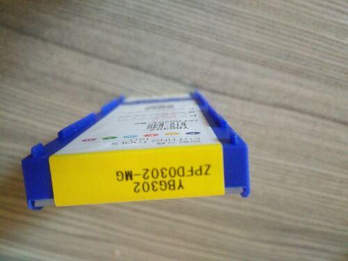 10pcs//Box Zhuzhou Diamond CNC lame zpfd 0302-MG YBG302