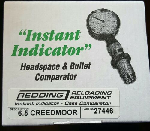 27446 REDDING INSTANT INDICATOR WITH DIAL 6.5 CREEDMOOR NEW RANGE ADAPTER