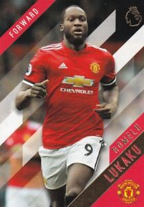 2017-18-Topps-Premier-League-or-Football-Cartes-a-Collectionner-91-Romelu