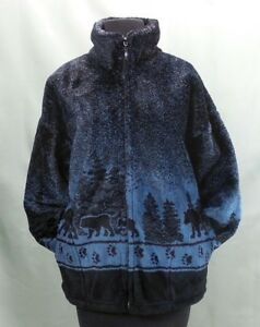 Mazmania Xl Plys L Jacket Coat M S In 2xl Made Usa New Bears Fleece Black 85wOx0qF1