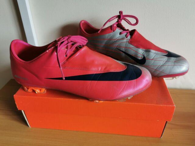 Residuos mucho sentido común  Nike Mercurial Vapor IV FG Mens Firm Ground Football BOOTS Metallic Silver  for sale | eBay