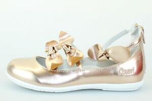 scarpe bambina ENRICO COVERI 33 ballerine rosa pelle sintetica DP304