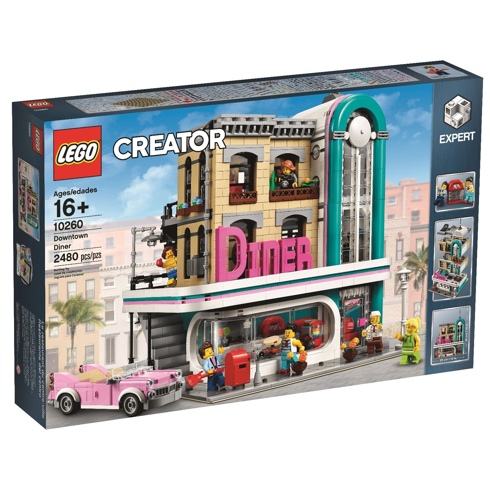 Lego 10260 Downtown Diner - Brand New Sealed