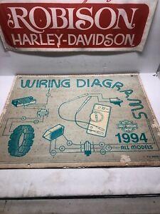 HARLEY DAVIDSON 1994 DEALER WIRING DIAGRAMS PART #99949-94 ...