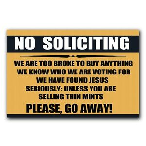Image Is Loading No Soliciting Sign Doormat Funny Indoor Outdoor Rubber