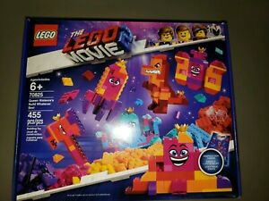 70825 Factory Sealed! LEGO The LEGO Movie 2 Queen Watevra's Build Whatever Box