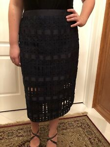 Ted-Baker-lace-grosgrain-pencil-skirt-size-5-USA-14