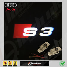 GHOST LOGO LASER PROJECTOR DOOR UNDER PUDDLE LIGHTS FOR AUDI S3 PLUG + PLAY.