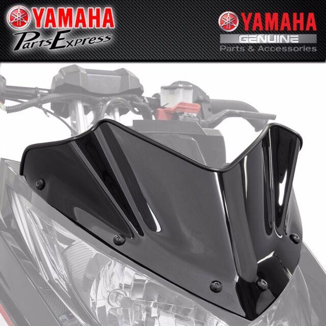 Yamaha R6 R-Model 2 Pack 06-07 With Silver screw kit Sportbike Windscreens ADYW-303S Smoke Windscreen