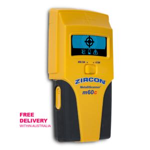 Zircon m60c MetalliScanner Metal Detector and live AC wiring detector