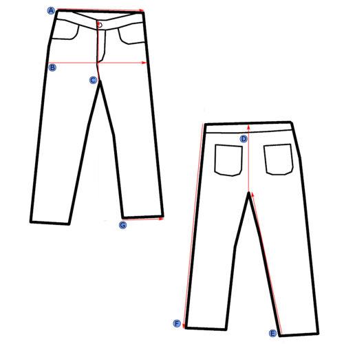da Taglia 30x31 stile Mankind 27 Jeans All scarponcino 7 donna For ZxqOaa