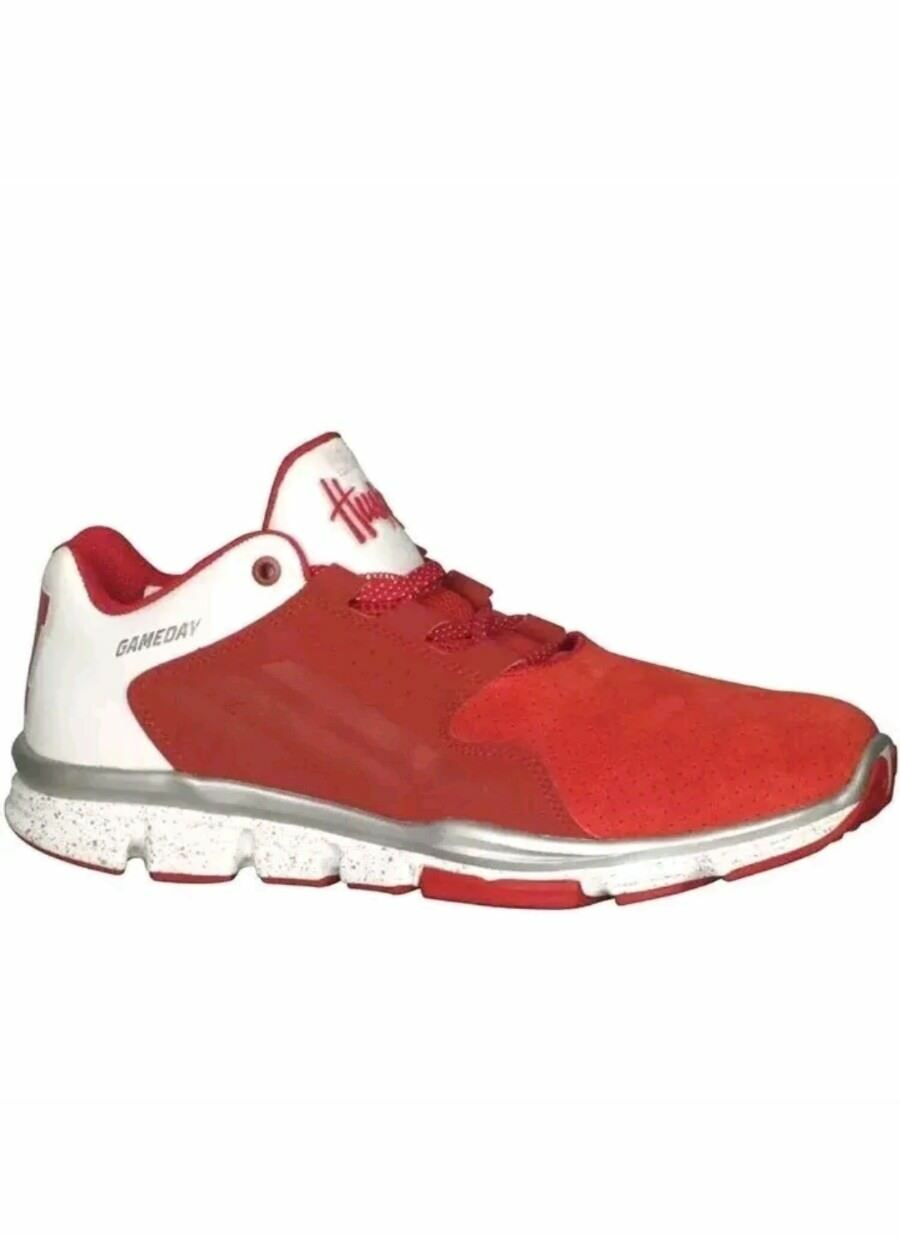 Adidas Gameday Luxe Nebraska Cornhuskers Shoes Red White Price reduction Seasonal price cuts, discount benefits