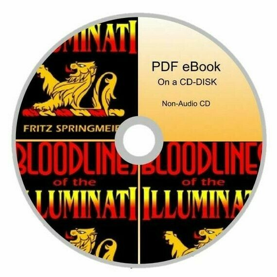 Bloodlines of the Illuminati By Fritz Springmeier Book On a CD-DISK Non-Audo 2