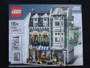 New-Lego-10185-Modular-Green-Grocer-Box-has-Crease-Sealed-Box-Free-Shipping