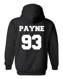Liam Payne 93 Jersey Black Short Sleeve Unisex Tshirt Tee White