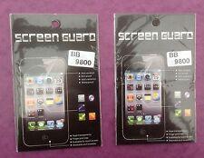2 x Blackberry BB 9800 Lcd Pellicola Trasparente Salvaschermo Nuovo di Zecca