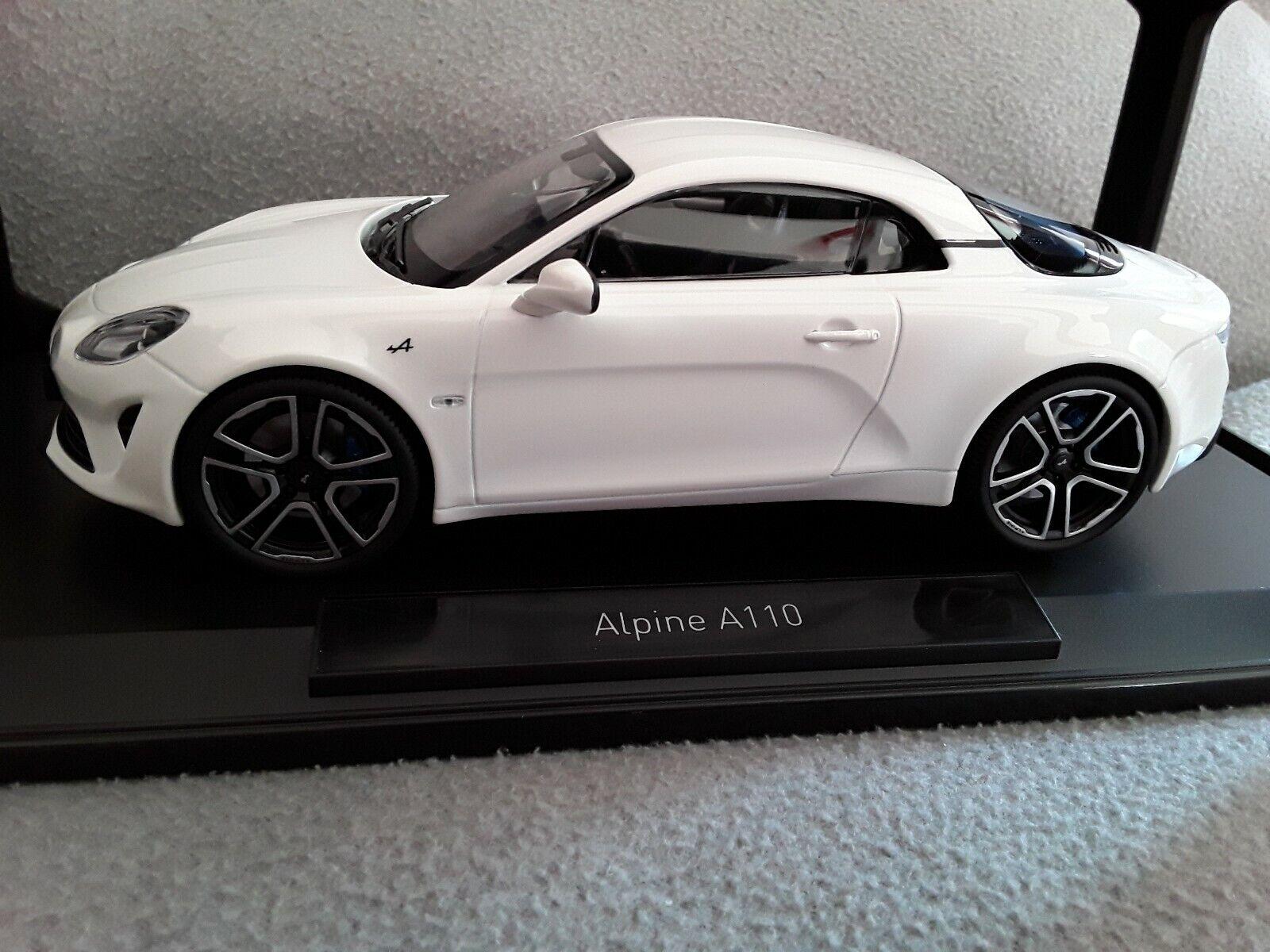 RENAULT Alpine a110 * 2017 Bianco * 1:18 NOREV 185144