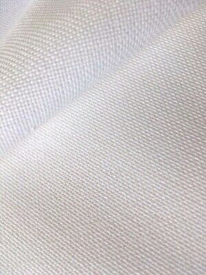 Antique White Brittney Lugana 28 Count Zweigart even weave fabric size options