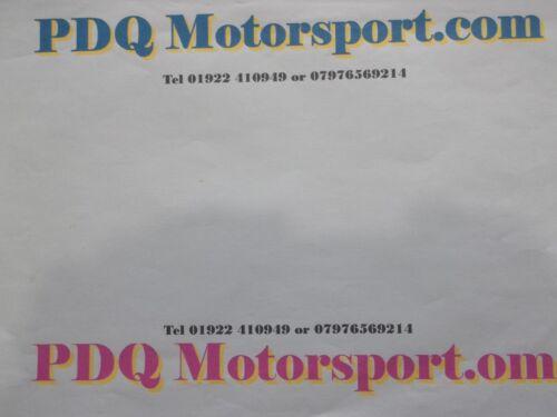 Ford RS Genuine Leather Keyring Keyfob Blue  PDQ Motorsport