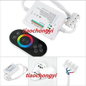 acb9f94d15b 18A 12-24V Wireless Touch Panel RF RGB Remote Controller For RGB LED ...