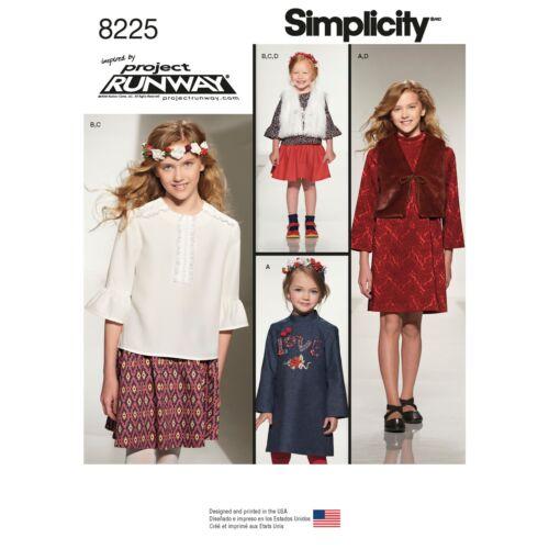 Simplicidad 8225 Nuevo Tamaño 7-14