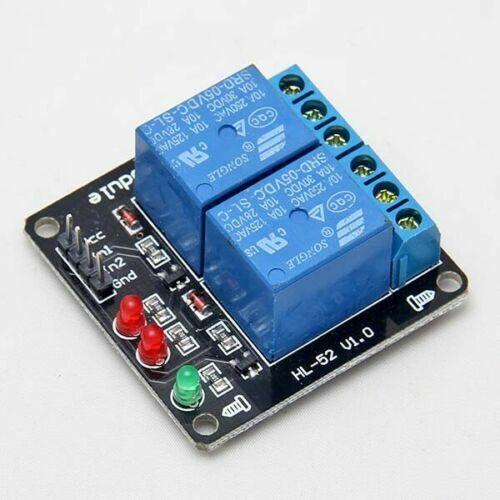 2-Kanal 5V Relais Modul Relay Optokoppler für PIC AVR Arduino ARM Raspberry Pi