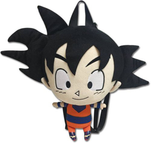 "GE Dragon Ball Z Goku Plush Bag Backpack 12/"" Official Licensed GE84621 US Seller"