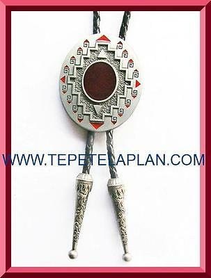 NEW AMERICAN SOUTHWEST RODEO WESTERN COWBOY BOLO TIE