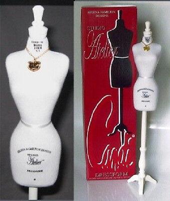 "Doll Mannequin Dress Form for 16/"" Fashion Dolls CANDI Tyler Gene Alex WHITE n//b"