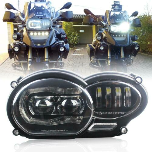 LED Front Headlight with White DRL for BMW R1200GS adv R1200GS LC 2004-2012