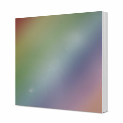"Hunkydory Liftables Mirri Mats 7/"" x 7/"" 75 Sheets Silver//Gold or Rainbow 220gsm"