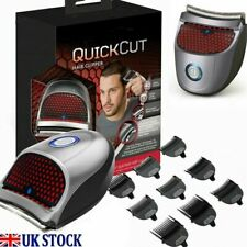 Quick Cut Electric Hair Clipper Cordless Rechargeable Washable Trimmer UK Seller