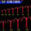 100pcs-Rouge-Hi-Acier-Carbone-peche-hamecons-Aiguises-Treble-Hooks-Tackle-pleine-taille miniature 11