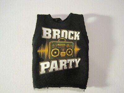 Brock Lesnar shirt for WWE Mattel figure wrestling toys Brock Party