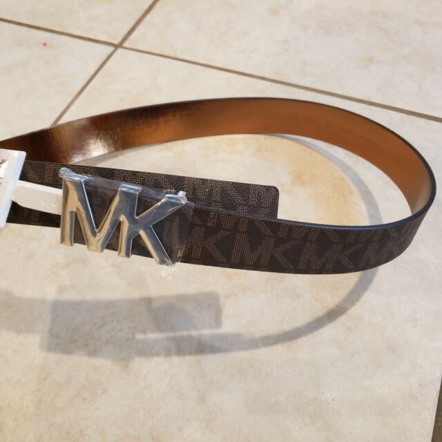 New fashion women/'s star Belt buckle brown waist size 34