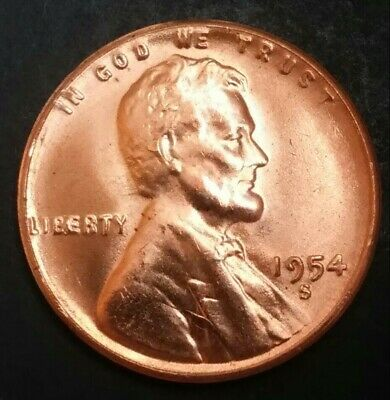 1945-D Lincoln Wheat Cent CHBU RED Uncirculated Condition original Rolls