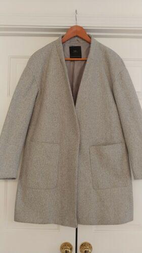 Zara Cocoon Coat Medium