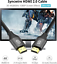 thumbnail 2 - HDMI Cable 6.5ft - Syncwire Premium Braided Ultra High Speed 18Gbps HDMI Cord 2.
