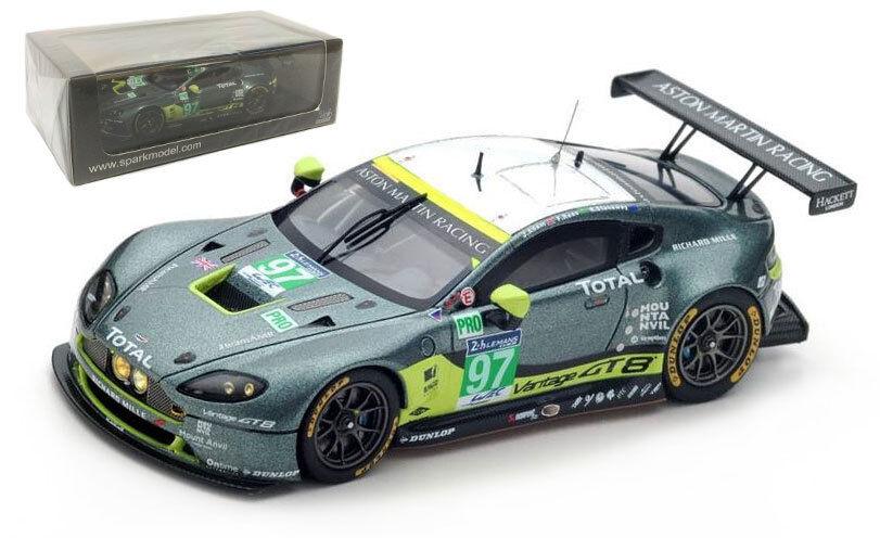 SPARK S5137 Aston Martin Vantage  97 'AMR  LMGTE PRO Le Mans 2016-échelle 1 43