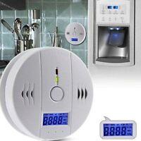 LCD CO Carbon Monoxide Tester Poisoning Gas Sensor Warning Alarm Detector