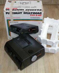 Diaprojektor Braun Paximat Multimag 250 S-AF Super-Paxon 2.8/85 MC Deutschland!!