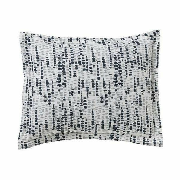 DWELL STUDIO LUCIENNE 2 STANDARD PILLOW SHAMS blueE NEW